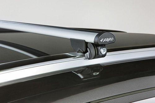 FARAD 90441BEA4.110/R206 - DACHTRÄGER Aluminium FÜR Fahrzeuge MIT GESCHLOSSENEM RELING