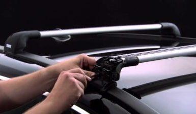 Auto Dachträger montieren